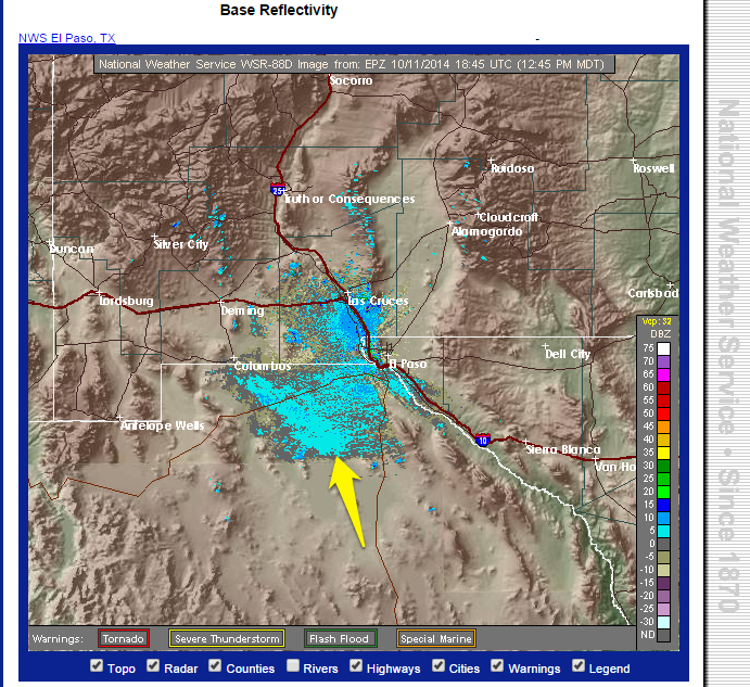 ElPasoNWS Radar 11OCT14