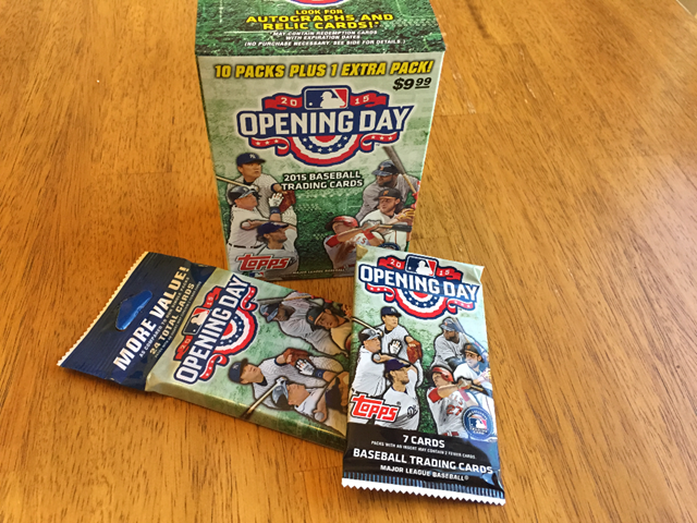 Topps Opening Day Baseball Cards 2015 Dustyfilecom
